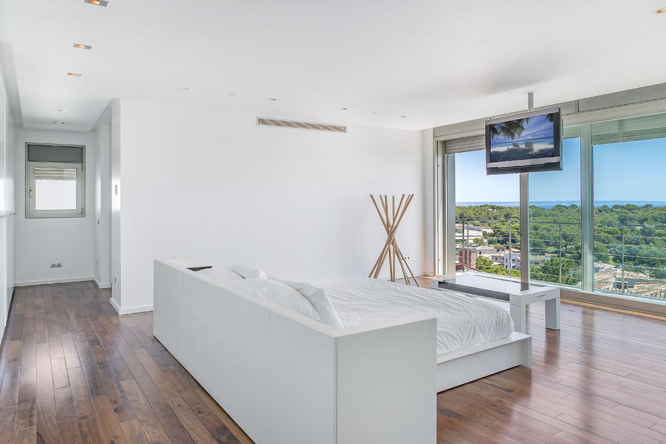 Fotografia del dormitorio para hacer un render