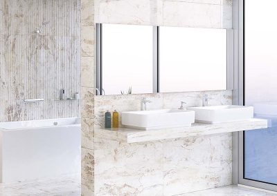 Renders e Infografias para catalogos de baños