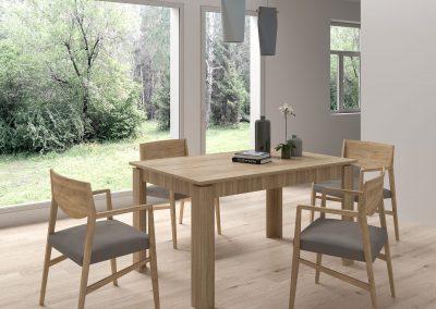 Renders e Infografias para mobiliario de salon comedor