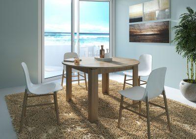 Renders e Infografias para muebles ambientes de mesas