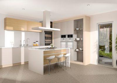 Como hacer Infografias 3D para arquitectura de viviendas (5)