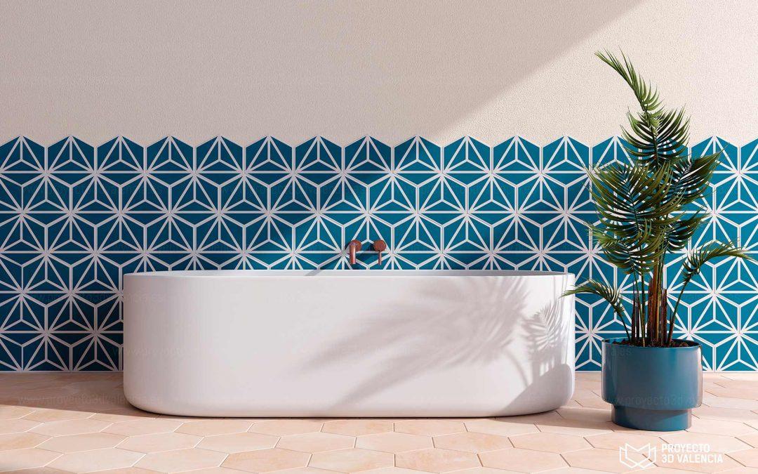 Renders Online para baños